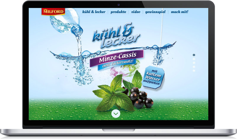 Website Image Milford auf Peritus Webdesign Webseite