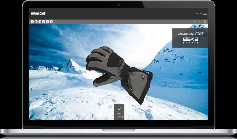 Website Image Eska auf Peritus Webdesign Webseite