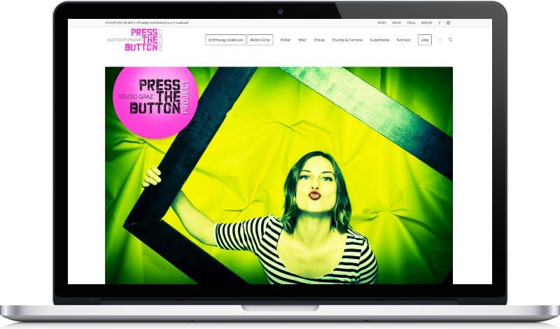 Website Image Press the button Screenshot auf Peritus Webdesign Webseite