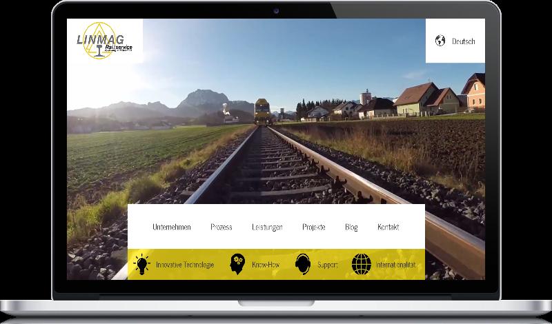Linmag-Webseite